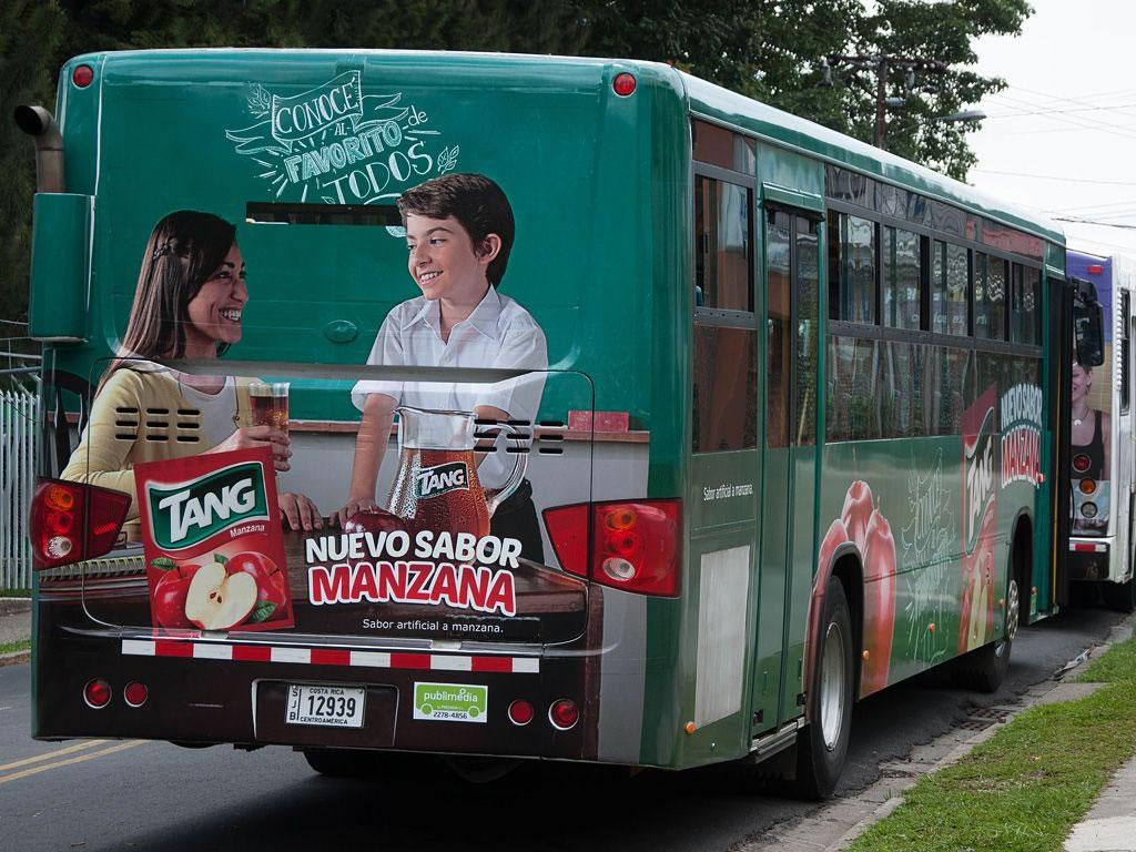 Publicidad en transporte publico